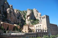 Het Montserrat klooster Royalty-vrije Stock Afbeelding