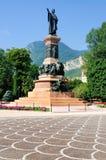 Monument aan Dante, Trento, Italië Stock Afbeeldingen