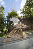 Het monument aan de componist Mikhail Verbitsky, de auteur van de hymne van de Oekraïne Royalty-vrije Stock Afbeelding