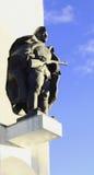 Het monument aan de militair Royalty-vrije Stock Fotografie