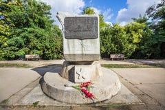 Het monument aan de Russische vloot van de Zwarte Zee stock foto
