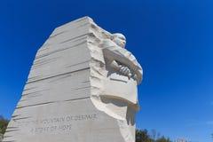 Het monument aan Dr. Martin Luther King stelde voor het publiek op Au open Royalty-vrije Stock Afbeelding
