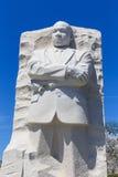 Het monument aan Dr. Martin Luther King stelde voor het publiek op Au open Royalty-vrije Stock Foto