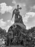 """Het Monument aan """"Millennium van Russia† stock foto's"""