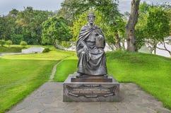 Het monument aan St Prins Igor Olgovich Chernigov Stock Fotografie