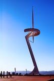Het monument in Barcelona Stock Afbeeldingen