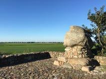 Het monument bij bereed Klif Stock Afbeeldingen