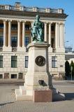 Het Monument Hygieia poznan Royalty-vrije Stock Afbeelding