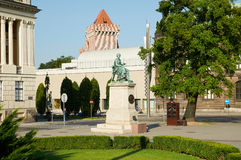 Het Monument Hygieia poznan Royalty-vrije Stock Afbeeldingen