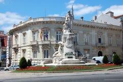 Het monument in Lissabon, Portugal Stock Fotografie