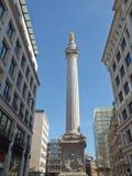 Het Monument, Londen Royalty-vrije Stock Afbeeldingen
