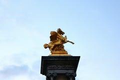 Het monument in Parijs Royalty-vrije Stock Fotografie