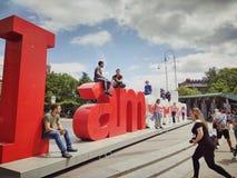 Het monument van Amsterdam Stock Fotografie