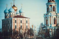 Het monument van architectuur - het Kremlin royalty-vrije stock foto's