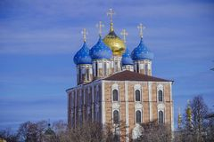 Het monument van architectuur - het Kremlin royalty-vrije stock afbeelding