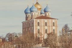 Het monument van architectuur - het Kremlin stock afbeelding