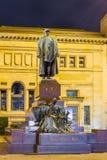 Het monument van Bismarck in Wuppertal-Barmannen stock afbeelding