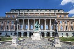 Het monument van Boedapest Stock Afbeeldingen