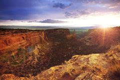 Het monument van Colorado royalty-vrije stock foto