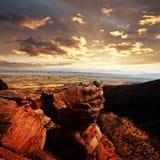 Het monument van Colorado royalty-vrije stock fotografie
