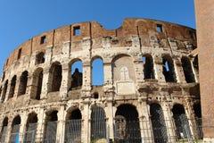 Het monument van Colosseum in Rome Italië Stock Foto