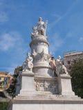 Het monument van Columbus in Genua Royalty-vrije Stock Fotografie