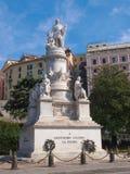 Het monument van Columbus in Genua royalty-vrije stock foto's
