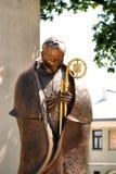 Het monument van Czeslaw Kaczmarek van de bischop Stock Fotografie