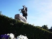 Het Monument van de Bronsruiter in Heilige Petersburg De overzeese hoofdstad van Rusland Details en close-up royalty-vrije stock fotografie