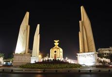Het monument van de democratie, Bangkok, Thailand Stock Afbeelding