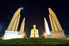 Het monument van de democratie in Bangkok, Thailand Stock Fotografie