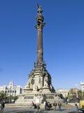 Het monument van de dubbelpunt Stock Afbeeldingen