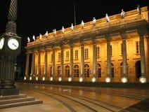 Het monument van de geschiedenis bij nacht royalty-vrije stock afbeelding
