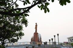 Het Monument van de koning Royalty-vrije Stock Afbeelding