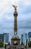 Het monument van de onafhankelijkheid, Mexico Stock Fotografie