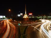 Het Monument van de overwinning, Bangkok. stock afbeeldingen