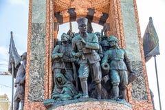 Het Monument van de republiek in Istanboel Stock Afbeelding