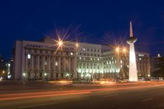 Het monument van de Revolutie Stock Fotografie