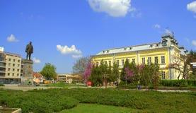 Het monument van de Silistrastad, Bulgarije Stock Afbeelding