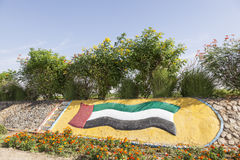 Het Monument van de V.A.E in Liwa-Oase royalty-vrije stock afbeelding