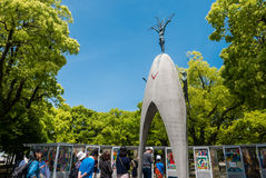 Het Monument van de Vrede van kinderen Royalty-vrije Stock Foto's