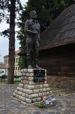 Het monument van Drazamihajlovic - Ivanjica Stock Afbeelding