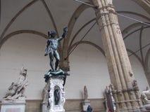 het monument van Florence royalty-vrije stock foto's