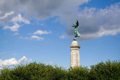 Het Monument van george-Etienne Cartier in Montreal Stock Foto