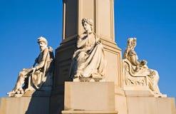 Het Monument van Gettysburg stock afbeeldingen