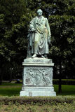 Het monument van Goethe Royalty-vrije Stock Fotografie