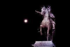 Het monument van het de nachtbeeldhouwwerk van Versailles Stock Afbeeldingen