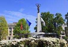 Het Monument van het noordencarolina veteran Royalty-vrije Stock Foto's