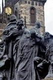 Het Monument van januari Hus Royalty-vrije Stock Afbeeldingen