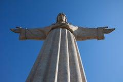 Het monument van Jesus-Christus in Lissabon Royalty-vrije Stock Foto's